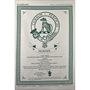 Hunter Clan Teatowel