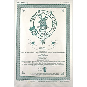 Keith Clan Teatowel