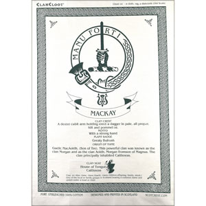 MacKay Clan Teatowel