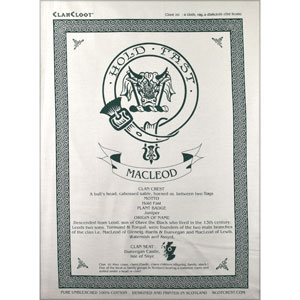 MacLeod Clan Teatowel