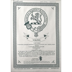 Young Clan Teatowel