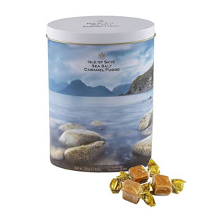 Isle of Skye Sea Salt Caramel Fudge Tin