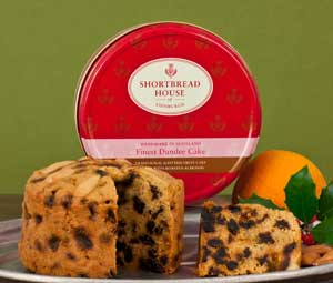 Dundee Cake -- Perfect With Tea