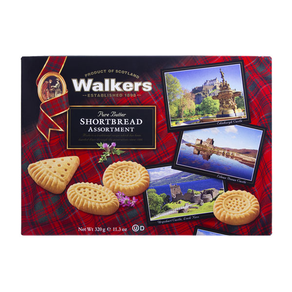SALE Castle Postcard Shortbread Assortment Gift Box