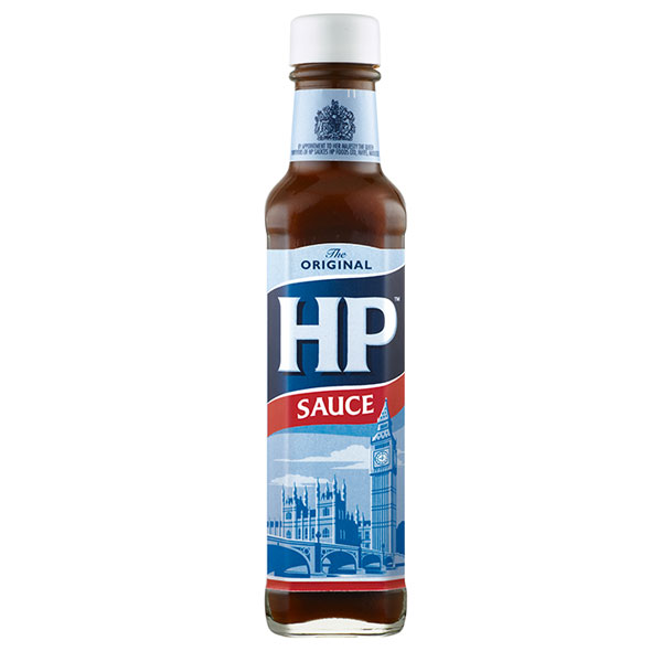 HP Sauce - 8.99 oz  glass bottle