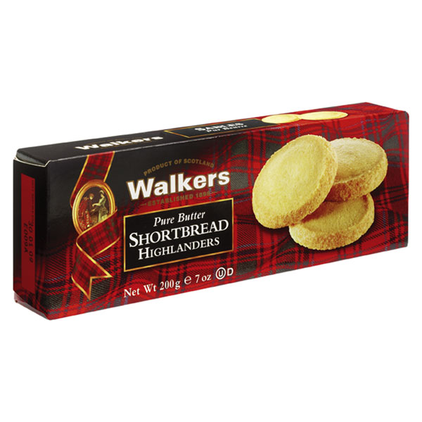 Highlanders Shortbread by Walkers - 7 oz. box