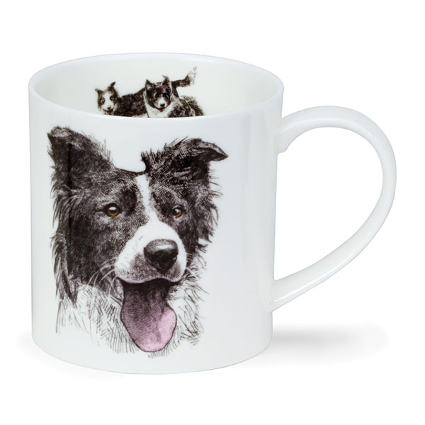 Border Collie Art Mug from Dunoon