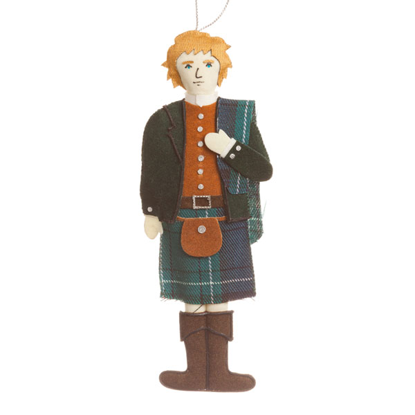 Highland Gent Ornament
