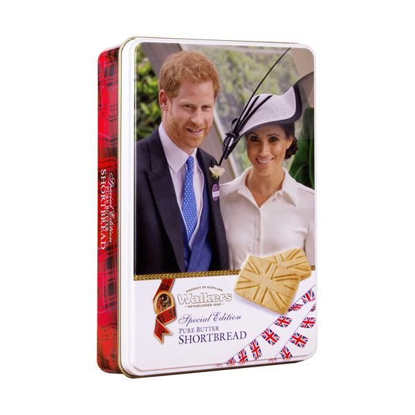 SALE Harry & Meghan Shortbread Tin
