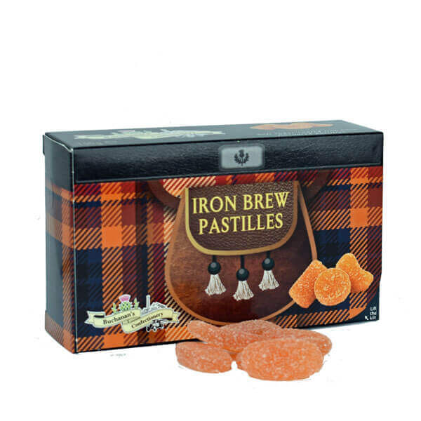 SALE Iron Brew Pastilles in Kilted Box Best by March 21st