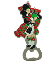 Enamel Piper Bottle Opener