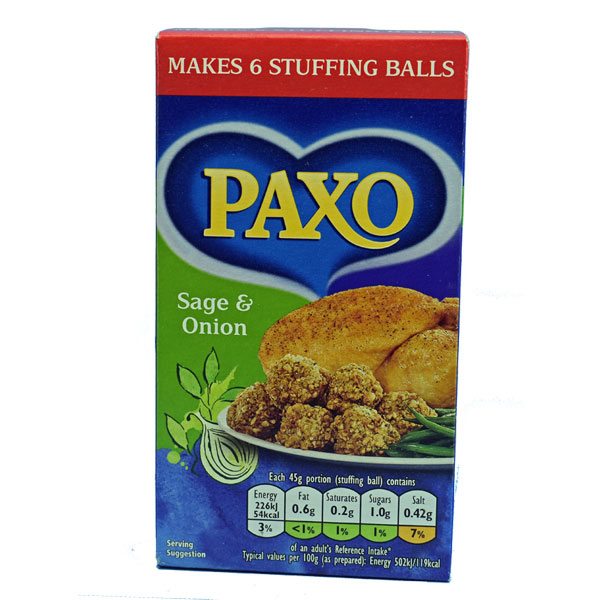 Paxo Stuffing Mix 3 oz. pouch