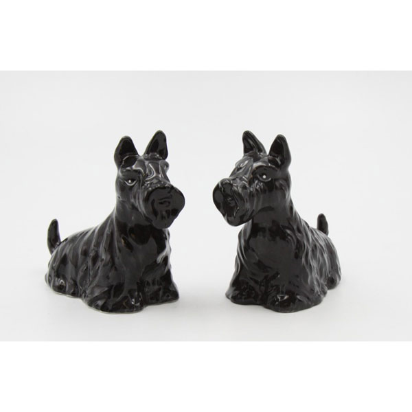 Scottie Salt & Pepper Shakers