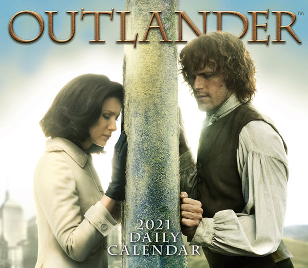 Outlander 2021 Daily Calendar - 365 days