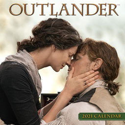 Outlander 2021 Mini Wall Calendar
