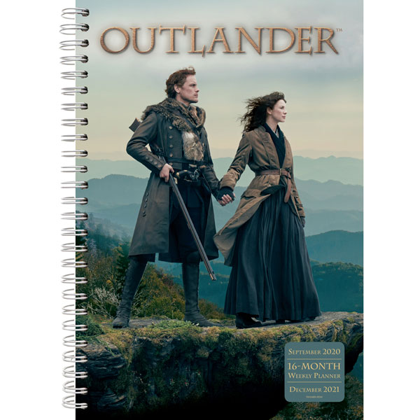 SALE Outlander 2021 Weekly Planner