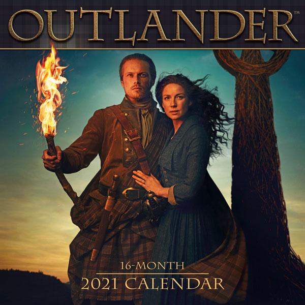 SALE Outlander 2021 Wall Calendar