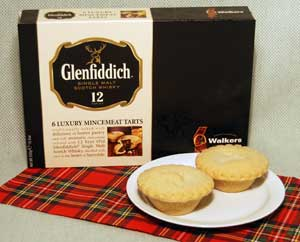 SOLD OUT Glenfiddich Mince Pies - 6 per box