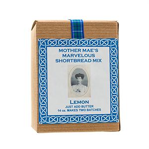 Mother Mae's Marvelous Shortbread Mix - Lemon