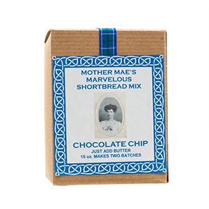 Mother Mae's Marvelous Shortbread Mix - Chocolate Chip