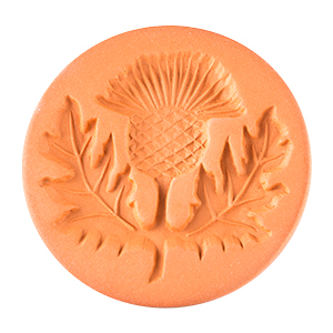 Thistle Cookie Stamp 2""