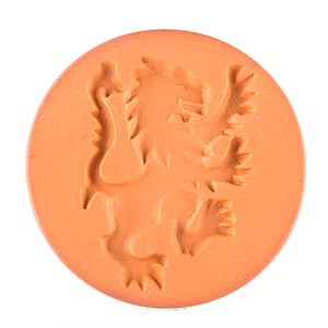 "Rampant Lion 2"" Cookie Stamp"