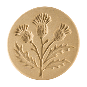 Thistle Cookie Stamp 3""
