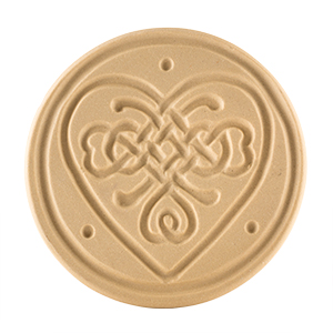Celtic Knot Heart Cookie Stamp 3""
