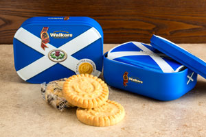 Walkers Saltire Shortbread Tin