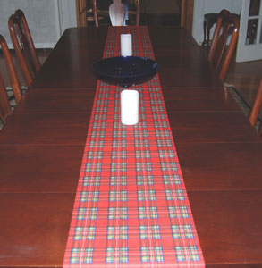 Royal Stewart Paper Table Runner