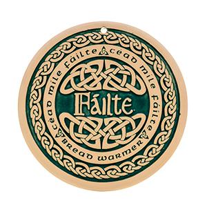 Celtic Welcome Bread Warmer - Failte