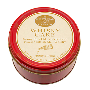 Whisky Cake in a Thistle Tin