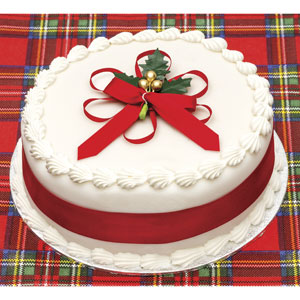 Christmas Cake with Brandy