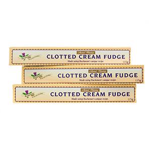 Clotted Cream Fudge - three sticks Best by March