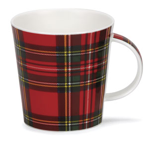 Royal Stewart Tartan Bone China Mug
