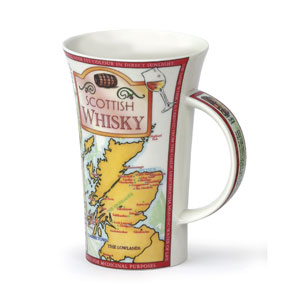 Scottish Whisky Oversized Bone China Mug