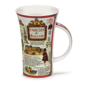Castles of Scotland Oversized Bone China Mug