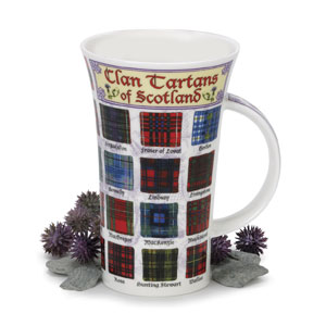 Clan Tartans Oversized Bone China Mug