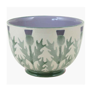 Thistle Salad Bowl from Anta Pottery