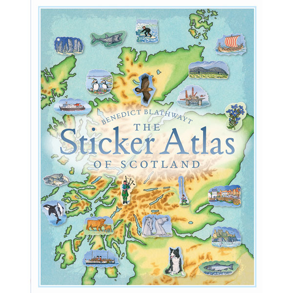Scotland Sticker Atlas