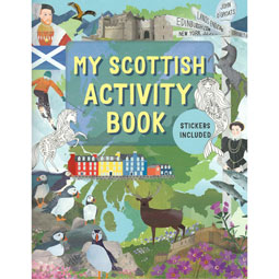 SOLD OUT Scottish Activity Book