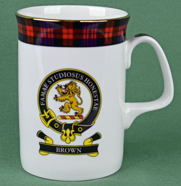 Brown Clan Mug