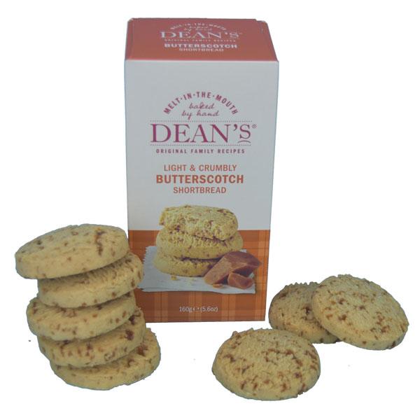 Deans Butterscotch Shortbread Rounds Box