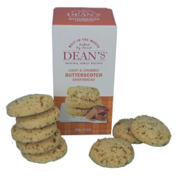 Deans Butterscotch Shortbread Rounds Box