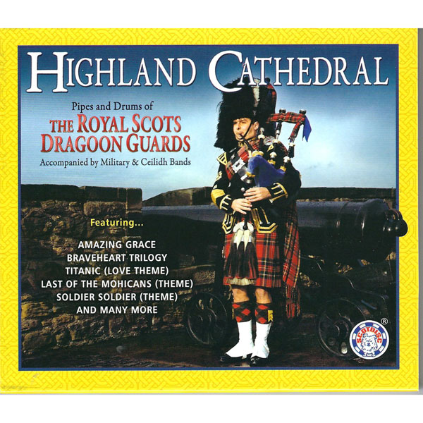 Highland Cathedral Bagpipe Music CD