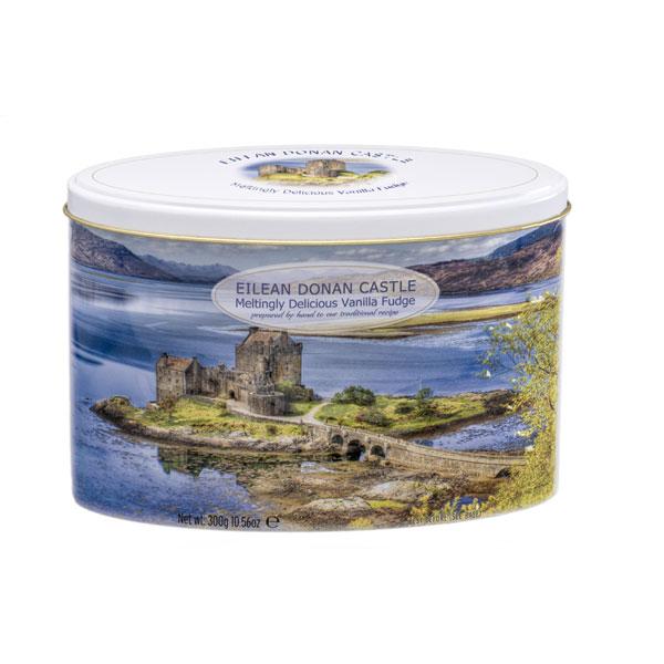 Eilean Donan Castle Vanilla Fudge Tin