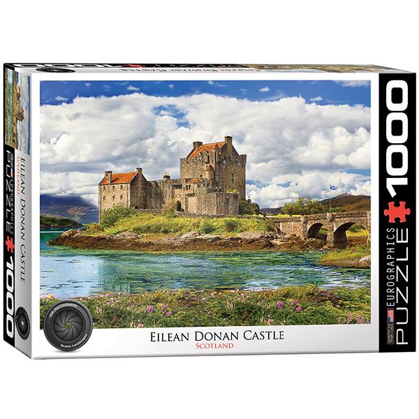 Eilean Donan Castle Puzzle - 1000 pieces