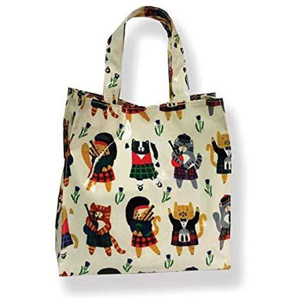 Cats N Kilts PVC Shopping Bag