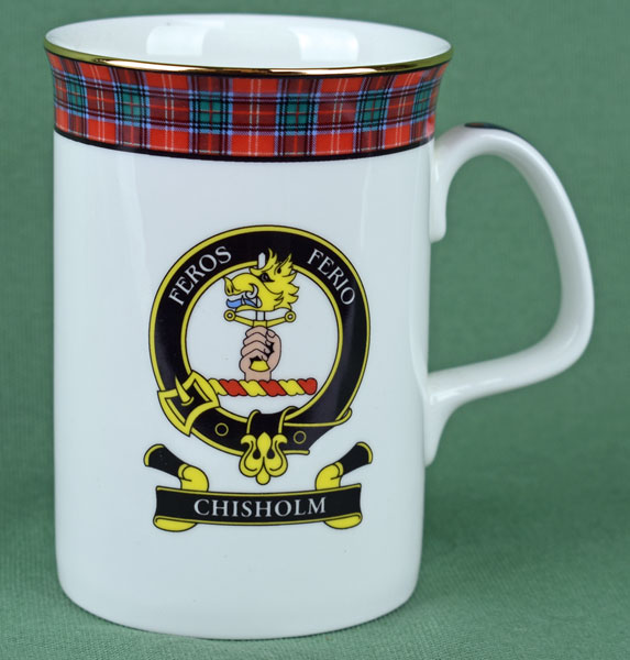 Chisholm Clan Mug