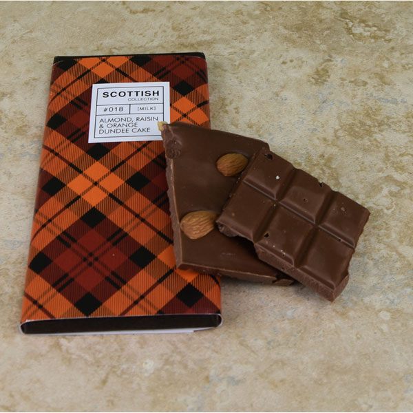 SALE Dundee Cake Milk Chocolate Bar - 3.5 oz.